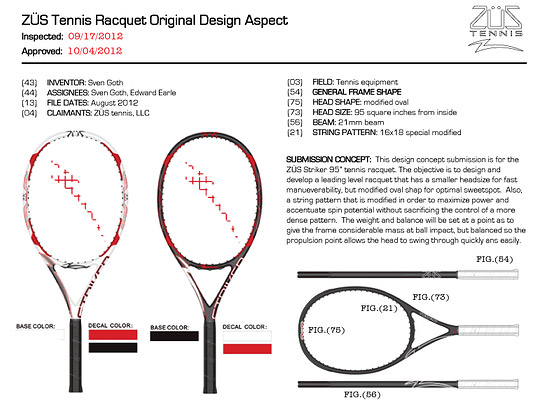 Designs for the Best Tennis Racquets