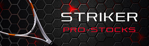 Striker Pro Stocks Tennis Racquets.